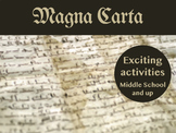 Middle Ages: Magna Carta Bundle