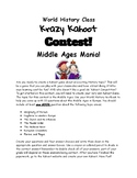 Middle Ages Mania Kahoot Contest