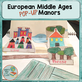 Middle Ages Manorial System Pop-Up Activity