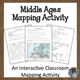 Middle Ages Mapping Activity Europe Geography Analysis