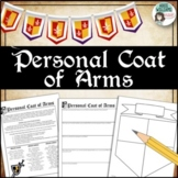 Middle Ages Coat of Arms Activity - Great for a Back To School Activity!