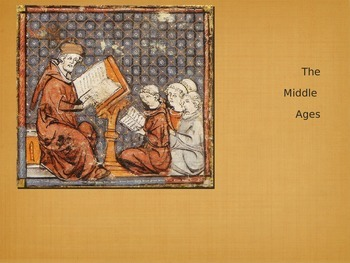 Middle Ages (Medieval Era) Music Part 1 Presentation - Powerpoint Version