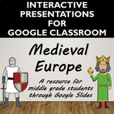 Middle Ages/ Medieval Europe Activity for Google Slides- Distance Learning