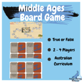 Middle Ages Medieval History Board Game Australian Curriculum