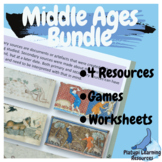 Middle Ages Medieval History Bundle Australian Curriculum