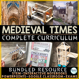 Middle Ages - Medieval Times Curriculum (Complete)