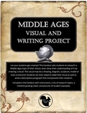Middle Ages Medieval Visual, Writing and Research Project