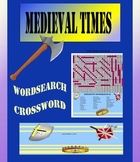 Middle Ages Medieval Work Wordsearches and Word Scramble