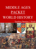 Middle Ages Packet - Two Weeks!