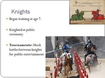 Middle Ages PowerPoint (detailed)