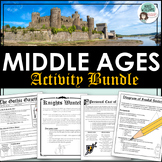 Middle Ages Bundle - Projects and Activities for Medieval Times