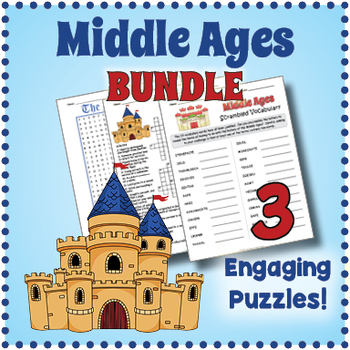 Middle Ages Puzzle Bundle