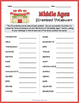 The Middle Ages Worksheet BUNDLE - Fun Puzzles