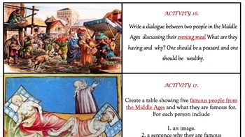 Middle Ages Click-and-Do Project