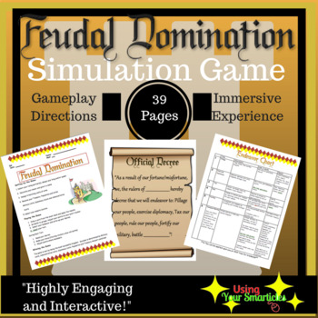 Middle Ages Simulation Game