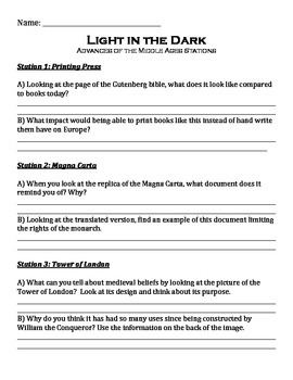 Middle Ages Stations