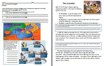 Middle Ages Unit: Crusades, Feudalism, Charelmagne, Black Plague, Genghis Khan