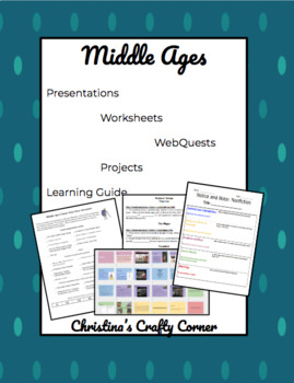 Middle Ages Knighthood Worksheets & Teaching Resources | TpT