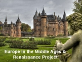 Middle Ages Europe/Renaissance Project Directions