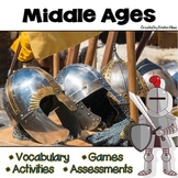 Middle Ages | Medieval Times | Vocabulary, Activities and Games