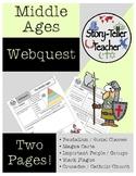 Middle Ages Webquest (Feudalism, Black Plague, Crusades, etc.)