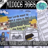Middle Ages: Will Your Kingdom Survive? (Print and Digital)