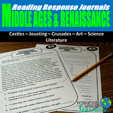 Middle Ages and Renaissance Reading Responses