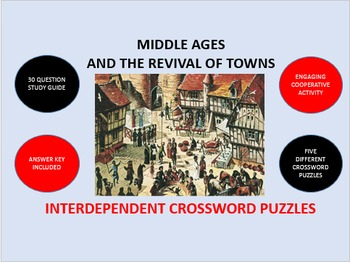 Middle Ages and the Revival of Towns: Interdependent Cross