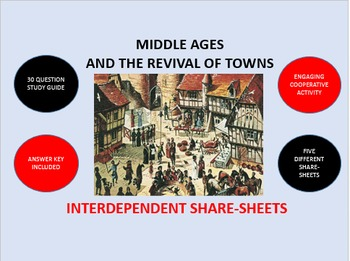 Middle Ages and the Revival of Towns: Interdependent Share-Sheets Activity