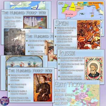 Middle Ages in Europe PowerPoint