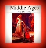 Middle Ages, medieval times - presentation PDF & Digital f