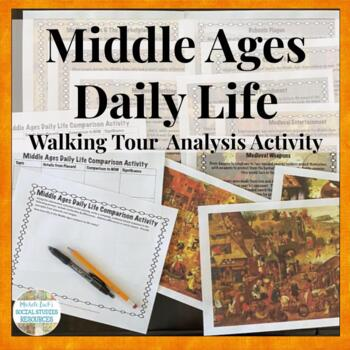 Middle Ages Daily Life Activity