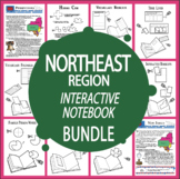 The Northeast Region Bundle + AUDIO–New England States & Middle Atlantic States