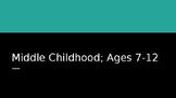 Middle Childhood: Physical Development Slides
