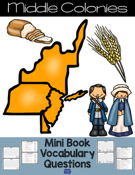 Middle Colonies Mini Book