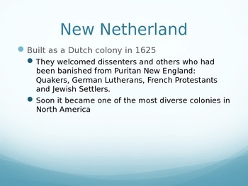 Middle Colonies PowerPoint