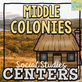 Middle Colonies Social Studies Centers
