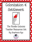 Middle Colonies Teacher Resources Set