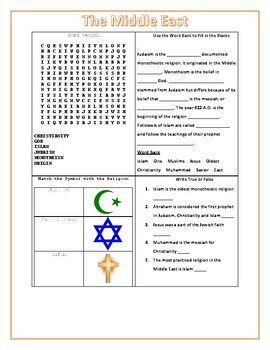 Religion and ethnicity middle east teaching resources teachers pay gmap gps middle east activity worksheets answer key included gmap gps publicscrutiny Image collections