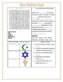Middle East Activity Worksheets! Answer Key Included! GMAP GPS