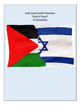 Middle East Arab-Israeli Conflict Partner Activity with Google Presentation