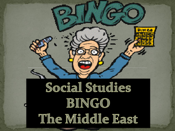 Middle East BINGO!!!
