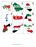 Middle East Calendar Pieces