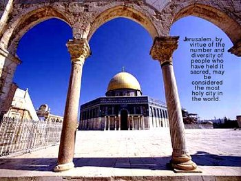 Middle East Conflict over Jerusalem - Dome on the Rock (PPT)