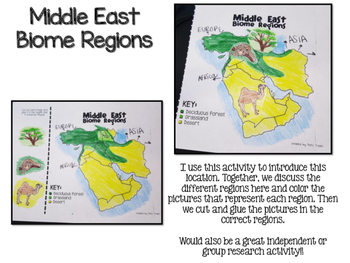 Middle East Biome and Geography Hunt