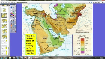 Middle East Geography Lesson