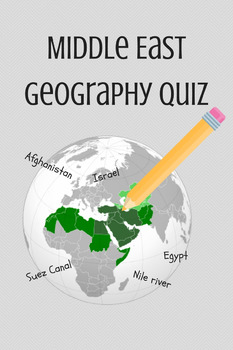 Middle East Geography Quiz