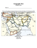 Middle East Geography Study Pack