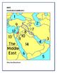 Middle East Geography and Religion Test or Test Prep