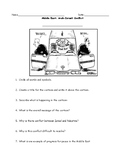 Middle East Israel Palestine Political Cartoon Worksheet and Answer Key